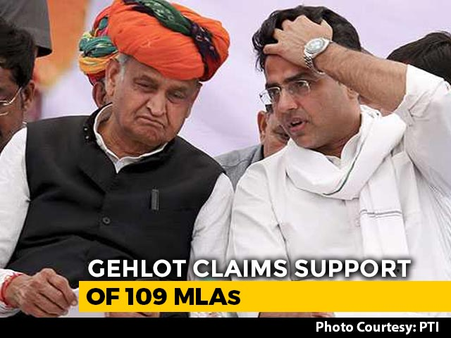 Video : After Sachin Pilot's Revolt, Congress Pins Hopes On Meeting Of MLAs