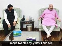 """Devendra Fadnavis Meets Amit Shah, Says """"No Operation Lotus In Maharashtra"""""""