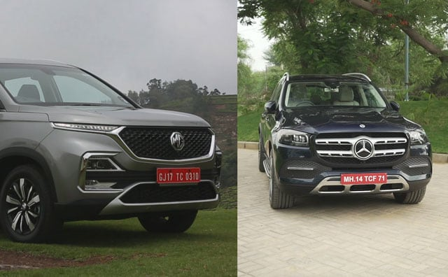 MG Hector Plus Review, Mercedes-Benz GLS Features