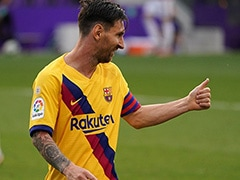 La Liga: Lionel Messi Tees Up Victory As Barcelona Cling On To Fading Title Hopes