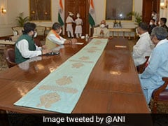 BJP Leaders Meet President Kovind, Demand CBI Probe In Bengal MLA's Death