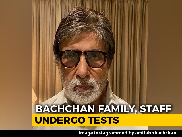 Amitabh Bachchan, Son Abhishek Test Positive For COVID-19, In Hospital