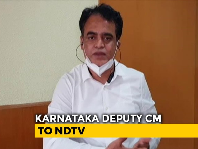 Video : State Equipped To Handle Coronavirus Cases: Karnataka Deputy Chief Minister