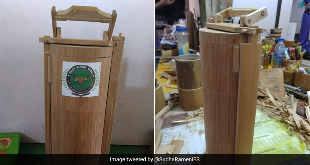 Manipur Company Makes Eco-Friendly Bamboo Tiffins For Lunch, Video Goes Viral On Twitter