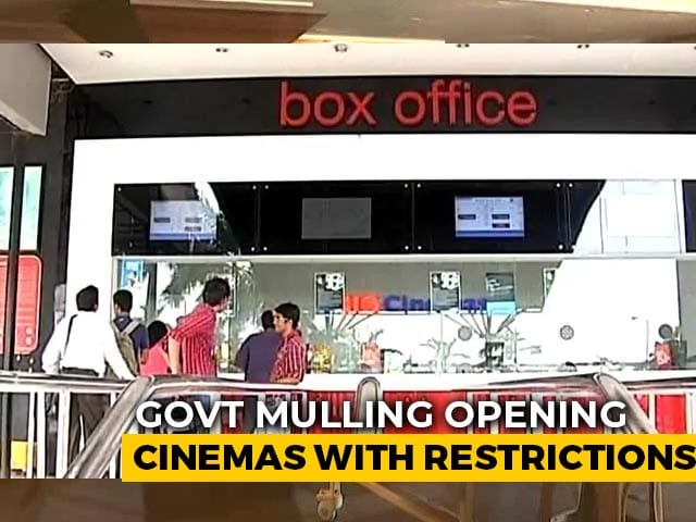 Video : Unlock3: Centre Considering Opening Cinema Halls With Curbs, Say Sources