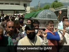 Funeral Of BJP Leader Wasim Bari, His Father, Brother Held In J&K's Bandipora