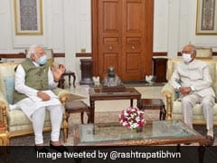 PM Modi Meets President Kovind To Discuss Various Issues: Rashtrapati Bhavan