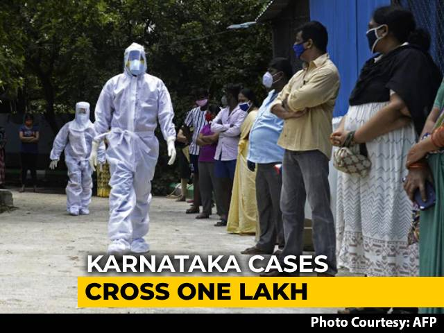 Video : Andhra Pradesh, Karnataka Cross 1 Lakh Coronavirus Cases
