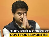 "Video : Congress Ran Government Like A ""Business"": Jyotiraditya Scindia"