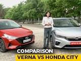 All New Honda City vs Updated 2020 Hyundai Verna