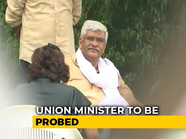 Video : Union Minister, Congress Target Over Rajasthan, Faces Credit Scam Probe