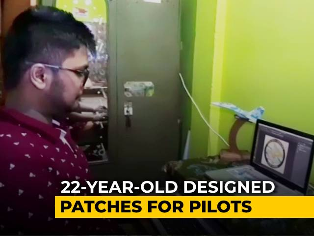 Video : 22-Year-Old Designed Patches For Pilots Who Flew Rafale Fighter Jets | NDTV Beeps