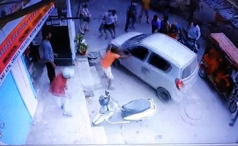 Delhi Cop Hits Woman With Car. Runs Her Over While Trying To Escape