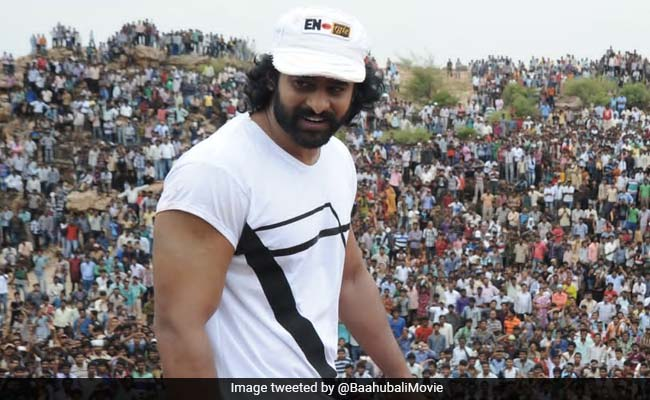 Pic: When Baahubali-Sized Crowd Welcomed Prabhas On The First Day Of Filming