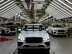 Bentley Ramps Up Production Of Bentayga At Crewe Plant