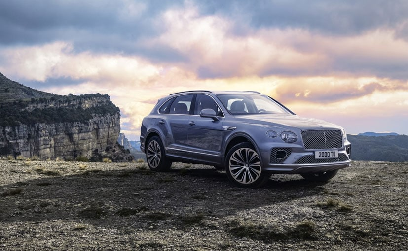The Bentley Bentayga gets an updated front end.