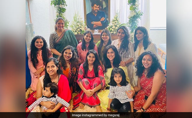 'Chiranjeevi Sarja, The Reason I Smile,' Writes Wife Meghana Raj In Viral Post