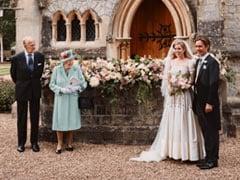 UK Princess Wears Grandmother Queen Elizabeth's Dress, Tiara On Wedding Day