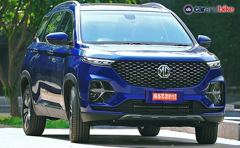 Car Sales July 2020: MG Motor India Registers 40 Per Cent Increase