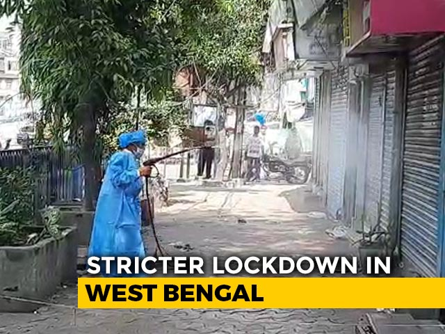 Video : Offices Shut, Transport Banned In Bengal's COVID Containment Zone Rules