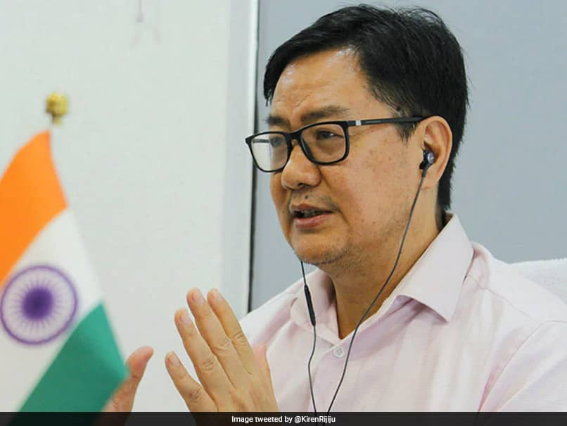 Sports Minister Kiren Rijiju Says Government Has Asked Every State To Adopt One Sport