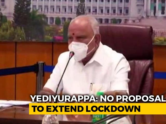 Video : No More Lockdown: BS Yediyurappa Looks To Strengthen Covid Infrastructure