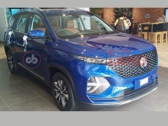 MG Hector Plus SUV India Launch Date Announced