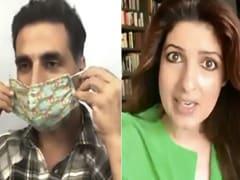 अक्षय कुमार Video में दे रहे थे लोगों को मास्क पहनने की सलाह, तो ट्विंकल खन्ना ने लगा दिया चोरी का आरोप
