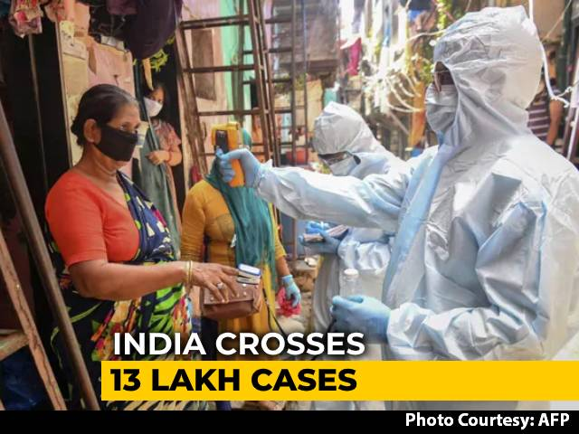 Video : India Crosses 13 Lakh Coronavirus Cases