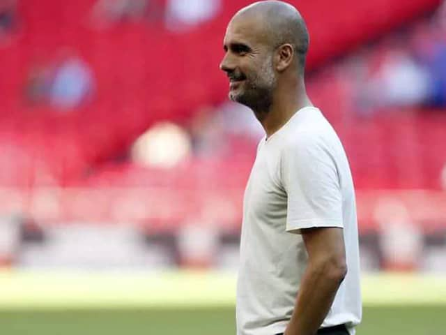 Manchester City Manager Pep Guardiola Hails