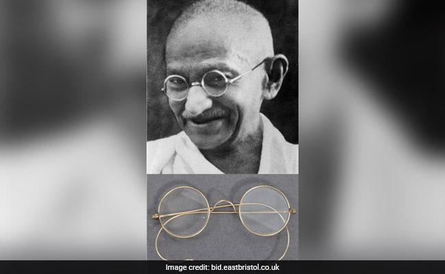 ब्रिटेन में महात्मा गांधी के पहने हुए चश्मे नीलामी के लिए रखे गए