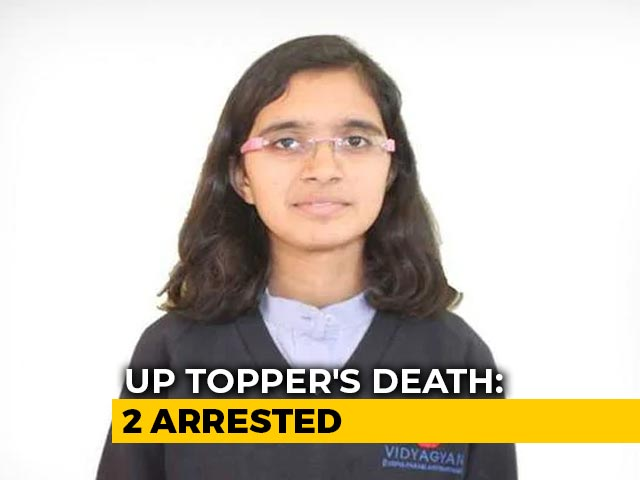 Video : 2 Arrested In Connection With UP Topper's Death Case: Police