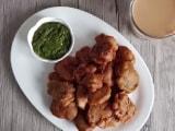 Video : How To Make Chicken Pakoda