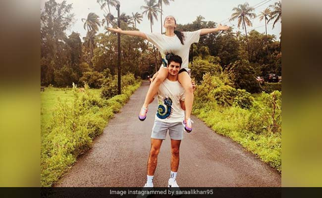 Sara Ali Khan 'Begged' And 'Bribed' Brother Ibrahim To Go On This Adventure. Pics Are Wow