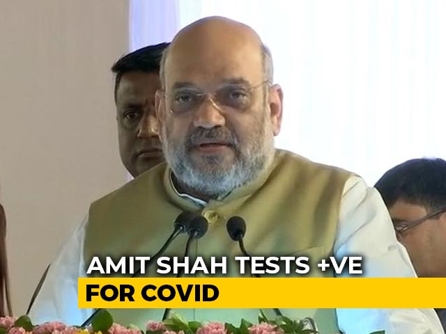 Video : Amit Shah Tests Covid Positive, Concerns Over Close Contacts