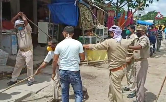 Case Against UP Official For Thrashing Men During Mask-Enforcing Drive