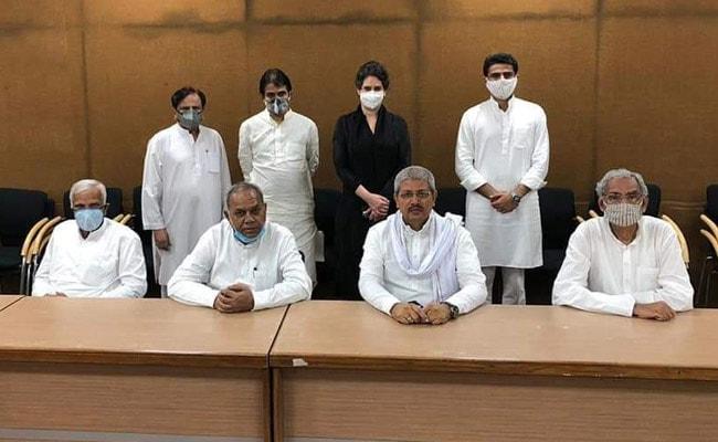 Priyanka Gandhi Vadra On Congress Team To Address Sachin Pilot Complaints