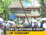 Video : CBI In Mumbai, Questions Sushant Singh Rajput's Staff Member, Meets Cops