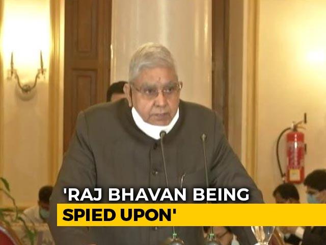 Video : Raj Bhavan Being Spied Upon, Says Bengal Governor, Draws Trinamool MP's Barb