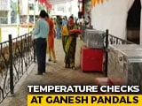 Video : Low-Key Ganesh Chaturthi In Mumbai Amid Pandemic