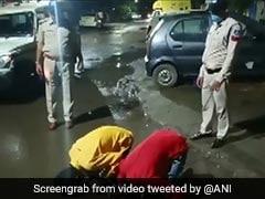 पुलिस ने अपराधियों से बीच सड़क कराई उठक-बैठक, देख तालियां बजाने लगे लोग... देखें Viral Video