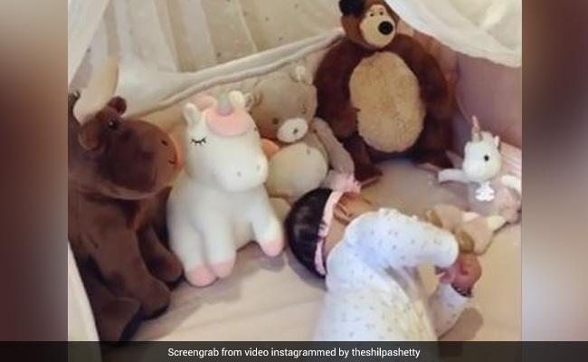 शिल्पा शेट्टी की बेटी हुईं 6 महीने की, एक्ट्रेस Video शेयर कर बोलीं- एक पल वे इतने छोटे होते है...