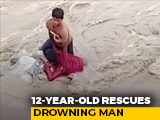 Video: In Nainital, 12-Year-Old Rescues Drowning Man | NDTV Beeps