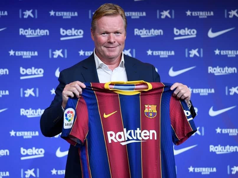 "Ronald Koeman Vows To Fight To Put Barcelona ""Back On Top"""