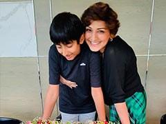 "Sonali Bendre's Son Rajveer Is ""Growing Up Too Fast."" Read Her Birthday Wish"