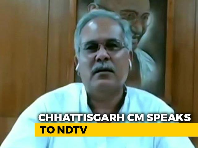 Video : Students Downloading Admit Cards Doesn't Mean They Welcome Centre's Decision: Bhupesh Baghel