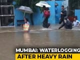 Video : Heavy Rain, Flooding In Mumbai, Local Trains Stopped, Offices Shut