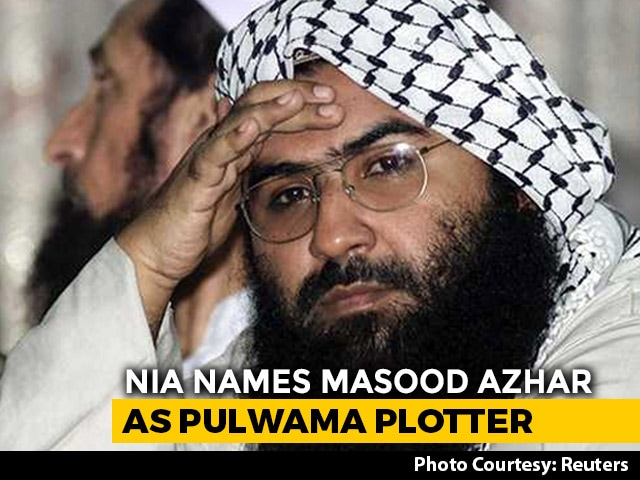 Video : Masood Azhar, Brother Named Pulwama Plotters In NIA Charge-Sheet: Sources