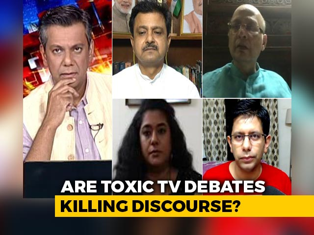 Video : Do Toxic TV Debates Take A Toll On Body And Mind?