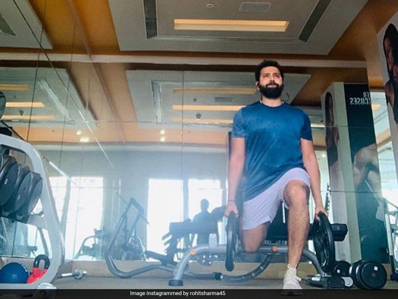 """""""Going Low To Push Yourself Higher"""": Rohit Sharma Hits The Gym Ahead Of IPL 2020"""